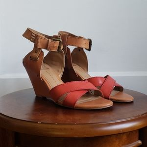 Dolce Vita Two-Tone Sandals